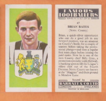 Notts County Brian Bates 47